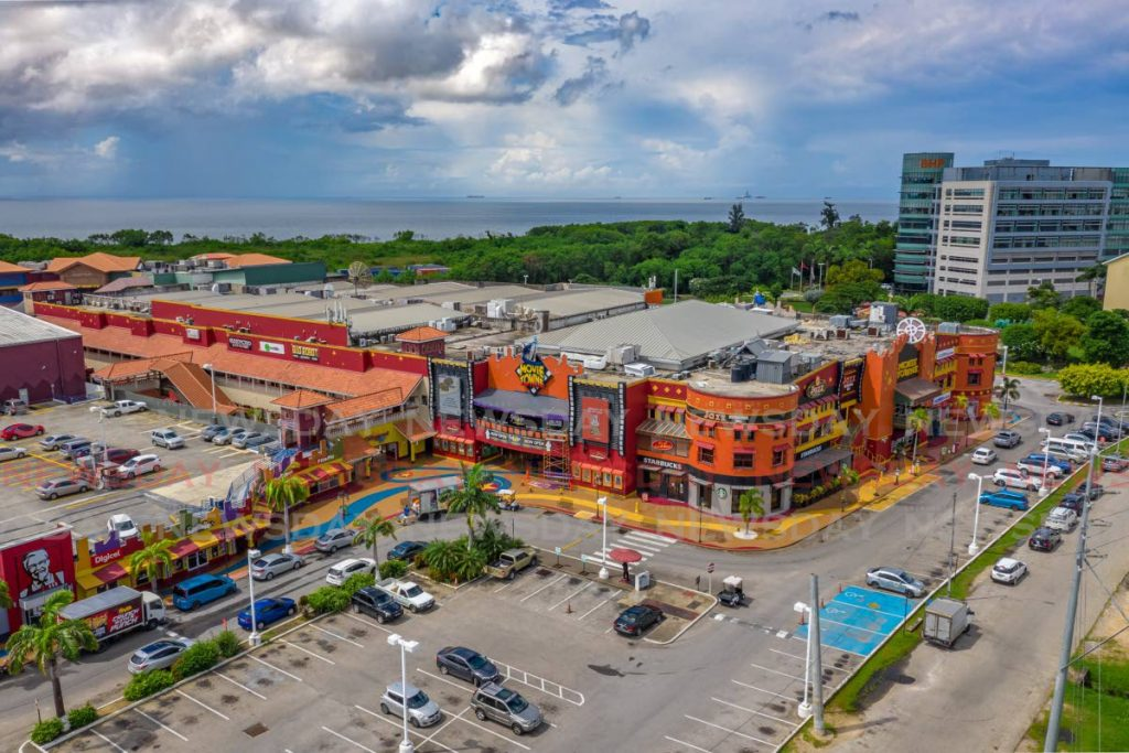 The Movie Towne complex in Port of Spain. Photo by Jeff K. Mayers