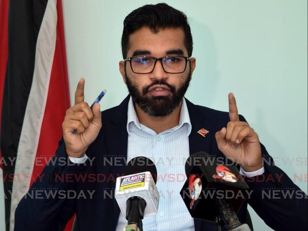Barataria/San Juan MP Saddam Hosein.