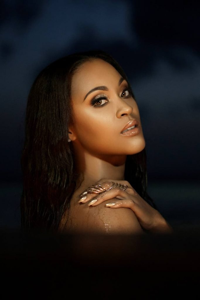 Grammy-nominated singer-songwriter Shontelle Layne's latest release, Tomorrow, is soca-infused and its lyrics were inspired by current social/health events in the world.   - Shontelle Layne