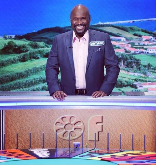 Trinidad-born stand-up comic Arthur Joseph was one of the contestants on Wheel of Fortune on February 26. -