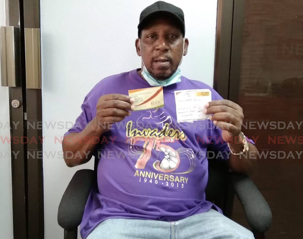 Former national boxing champion Ralph Peterkin, 69, is calling for an update on how far along his housing application has progressed after he has been waiting for a house for 40 years.  - Shane Superville
