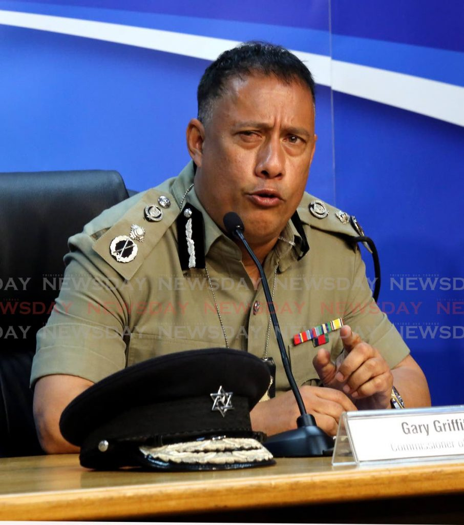 Police Commissioner Gary Griffith. Photo by Sureash Cholai