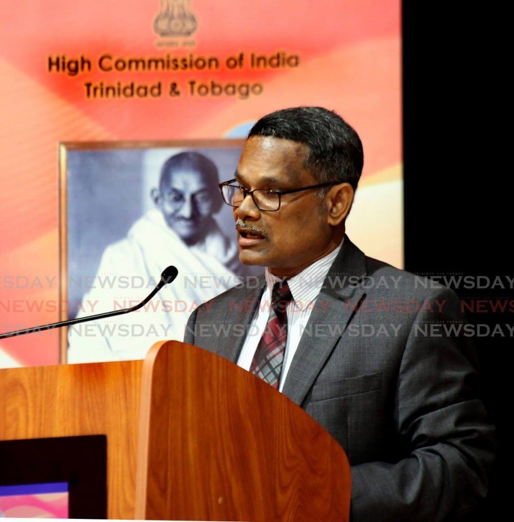 India's High Commissioner Arun Kumar Sahu - Photo by Sureash Cholai
