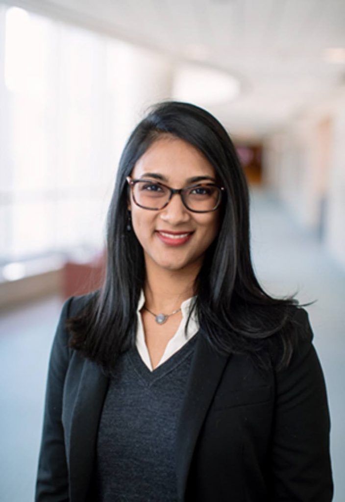 Amrika Ramjewan, originally from Sangre Grande and now a senior health systems engineer at the Mayo Clinic in the US. Photo courtesy Amrika Ramjewan