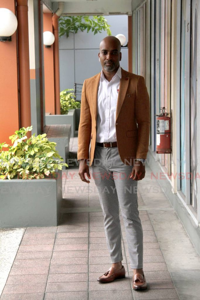 800-Tech managing director Scofield Thomas says his company has a suite of technical support programmes that can make any business more agile and able to compete on a global scale.  - Photo by Angelo Marcelle