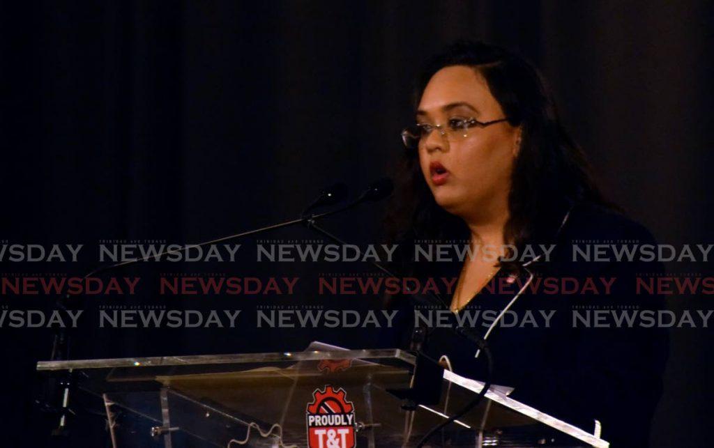 Trinidad and Tobago Manufacturers' Association president Tricia Coosal. Photo by Vidya Thurab