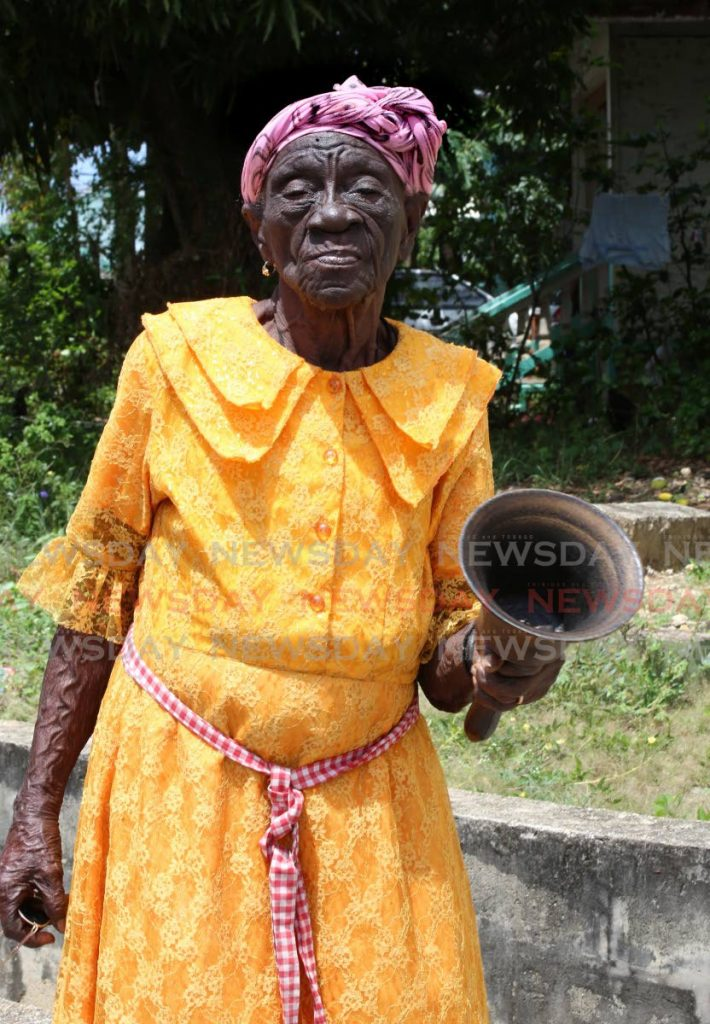 Archbishop Vidya Mason, 97, was baptised in 1937 at a river in St Joseph and would go on to lead the church as archbishop for 55 years. - SUREASH CHOLAI