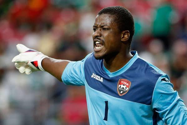 Trinidad and Tobago's Marvin Phillip -