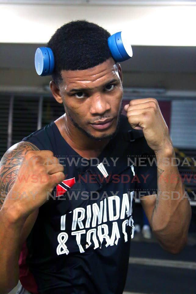 Boxer Michael Alexander. Photo by Sureash Cholai