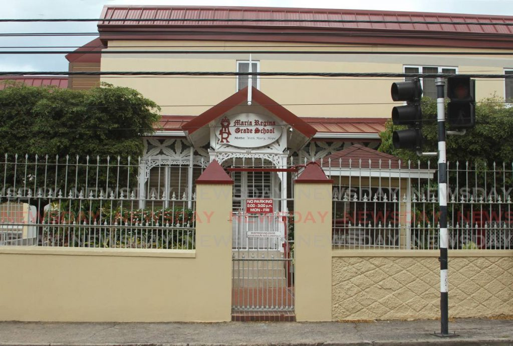 Maria Regina Grade School closed for ten days from March 12, 2020 to be sanitised when a student's parent became the first case of covid19 in TT. PHOTO BY AYANNA KINSALE -