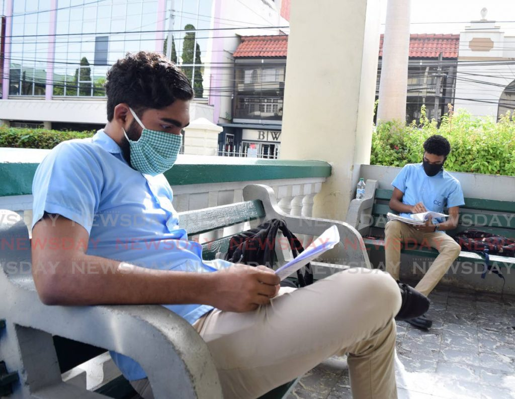 Form six students of St Mary's College revise for exams. With scholarships reduced to 100, an education consultant advises ways students can find other sources to pursue higher learning. File photo -