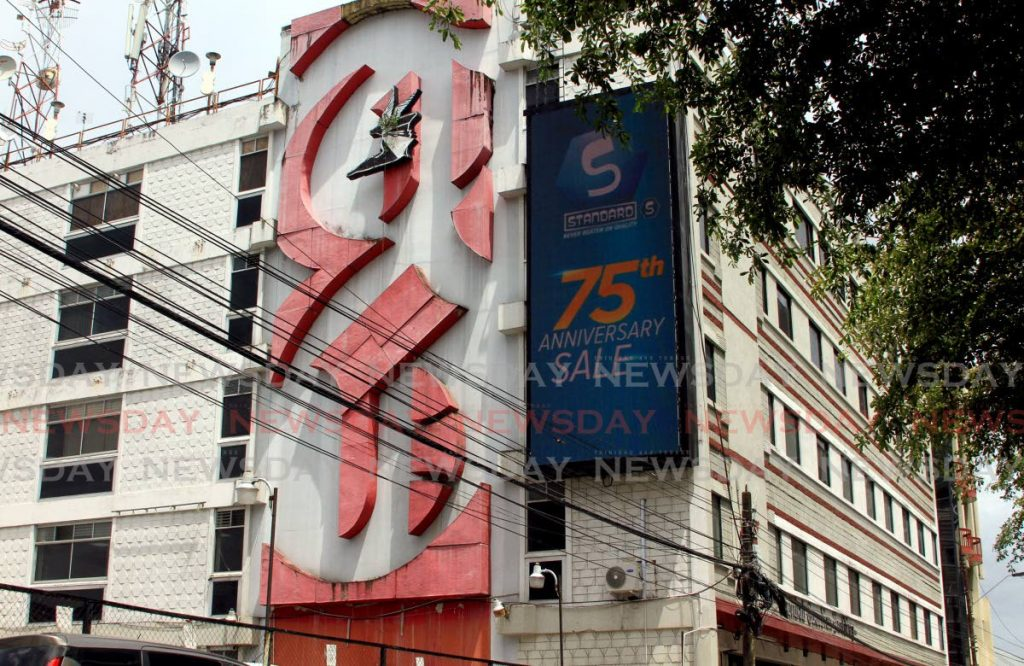 The Trinidad Publishing Ltd building on St Vincent Street, Port of Spain, a subsidiary of Guardian Media Ltd. - File photo/Ayanna Kinsale