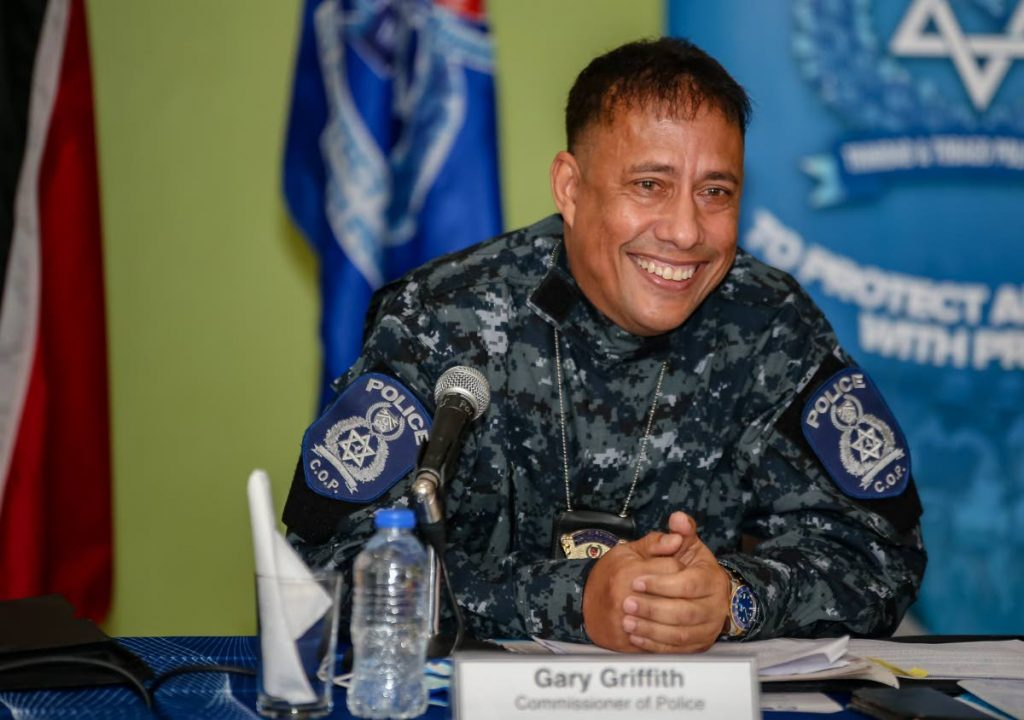 Commissioner of Police Gary Griffith - Jeff Mayers