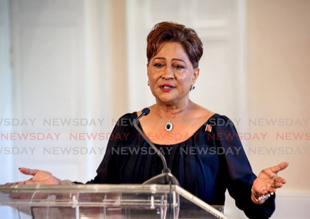 Opposition Leader Kamla Persad-Bissessar - SUREASH CHOLAI
