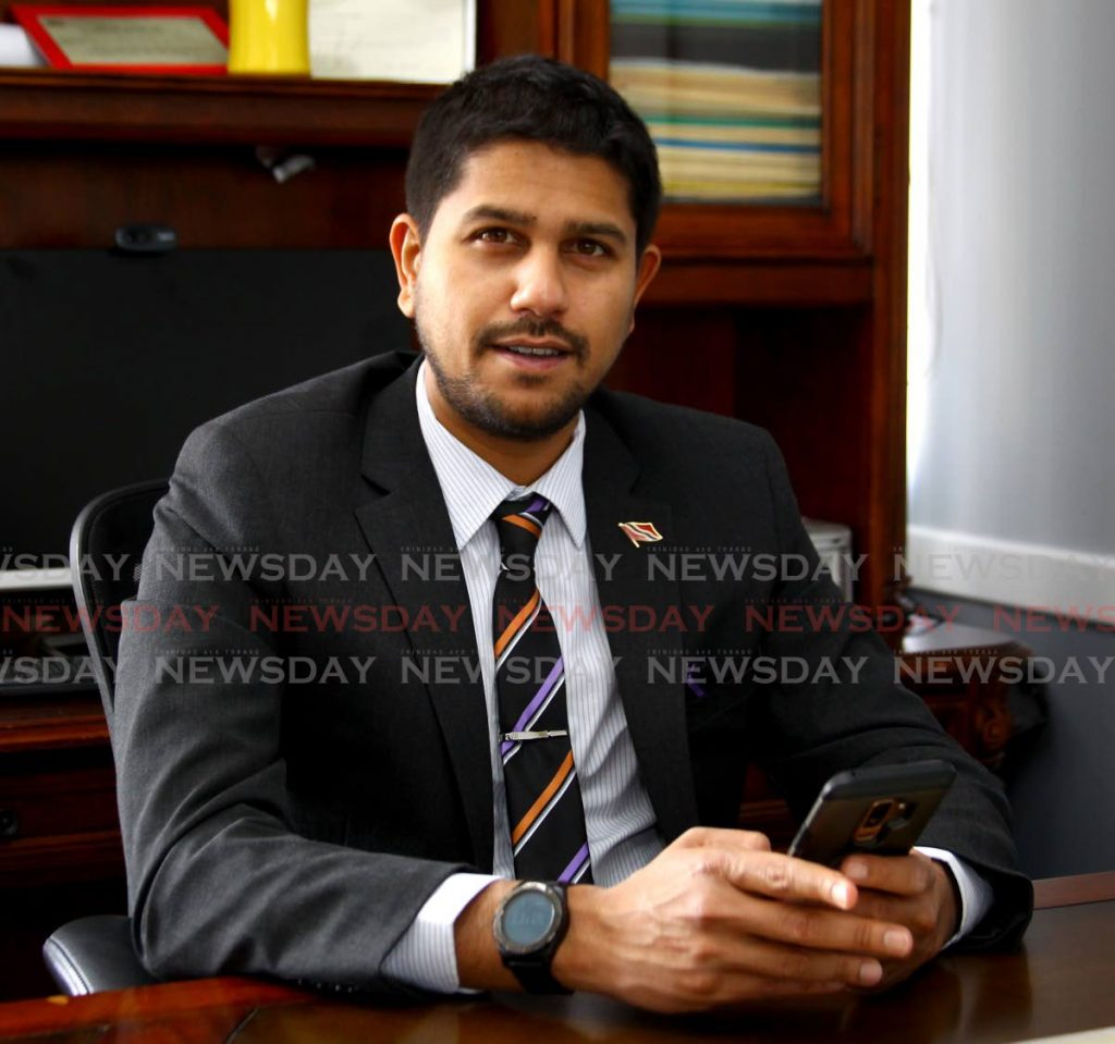 President of the Supermarket Association of Trinidad and Tobago (SATT) Rajiv Diptee. Newsday file photo