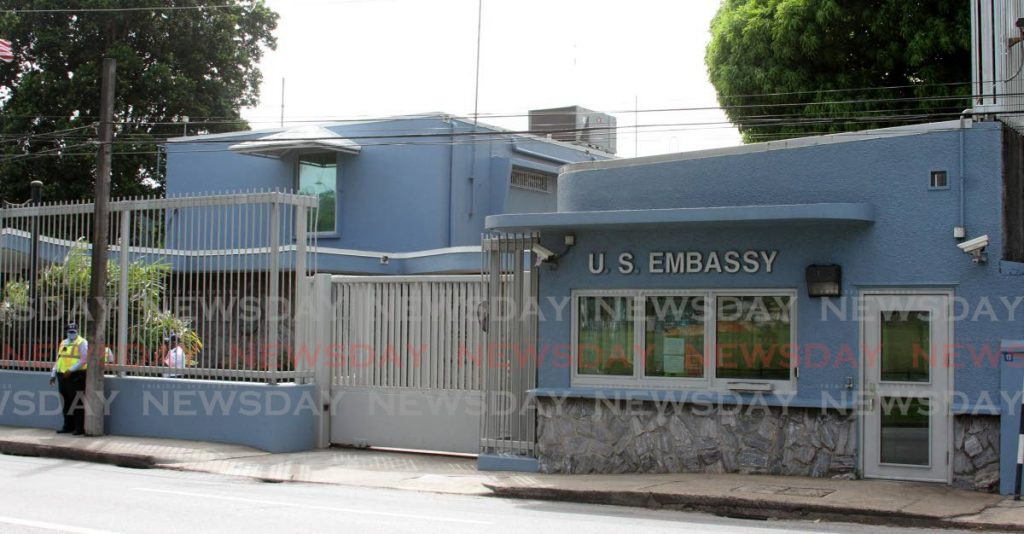 U.S Embassy, Queen's Park West, Port of Spain. - Photo by Angelo Marcelle
