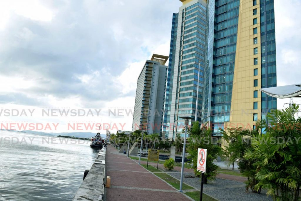File photo of the Waterfront Complex, in Port of Spain. - Vidya Thurab