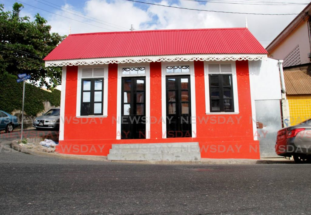 Renovated house on the corner of Bath and Piccadilly Streets, Port of Spain.
