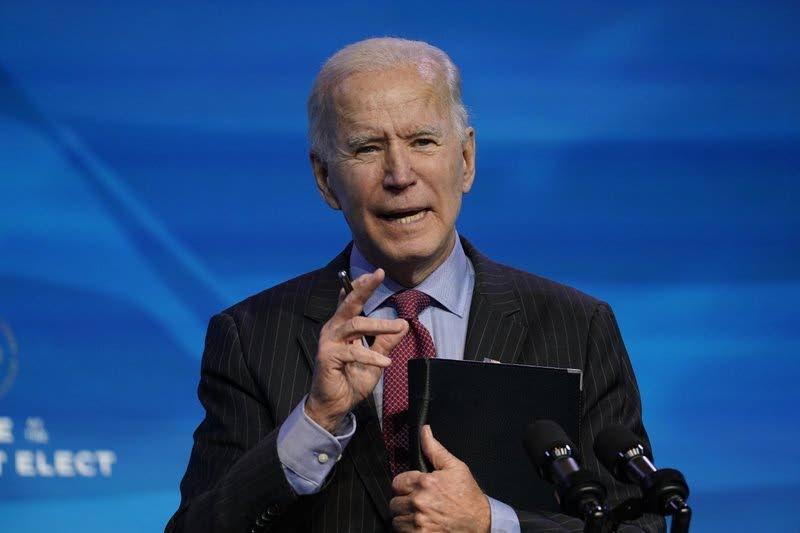 US President Joseph Biden.