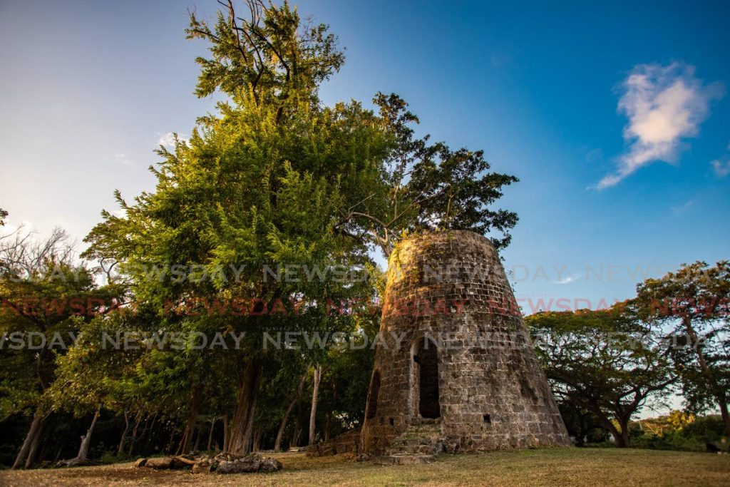 FILE PHOTO: An old sugar mill made from coral on what used to be part of the expansive Golden Grove Estate owned by John Robley Jr and his family in the 1800s. - JEFF K MAYERS