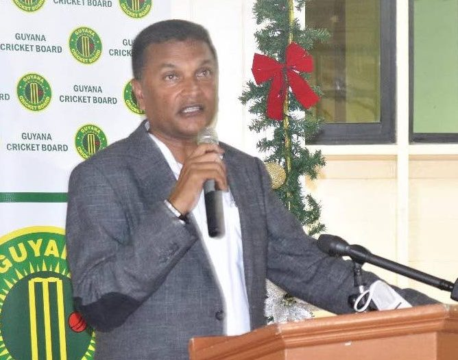 Former secretary of the Guyana Cricket Board Anand Sanasie -