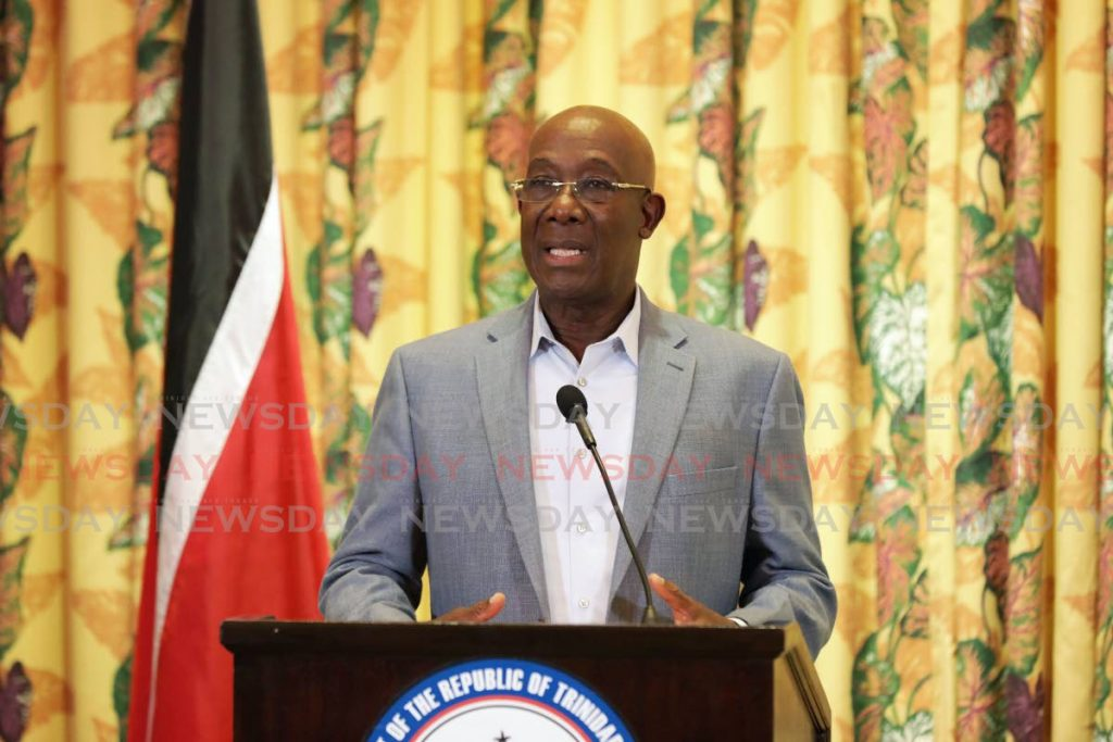 Prime Minister Dr Rowley - OFFICE OF THE PRIME MINISTER