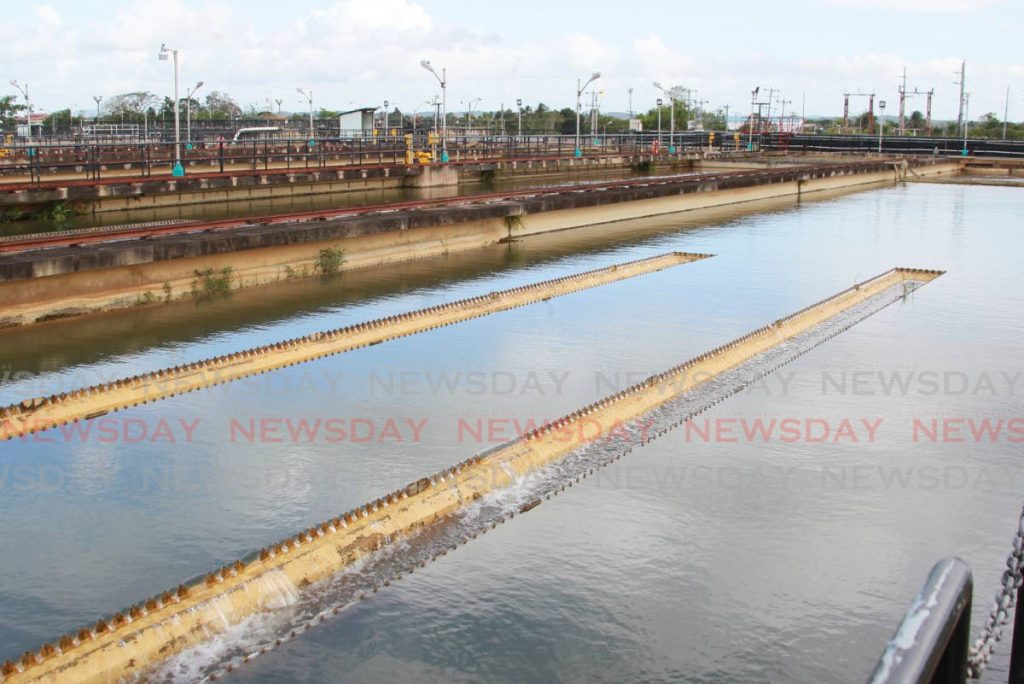 File photo: Caroni Water Treatment Plant, Golden Grove Road, Piarco. Photo by Roger Jacob