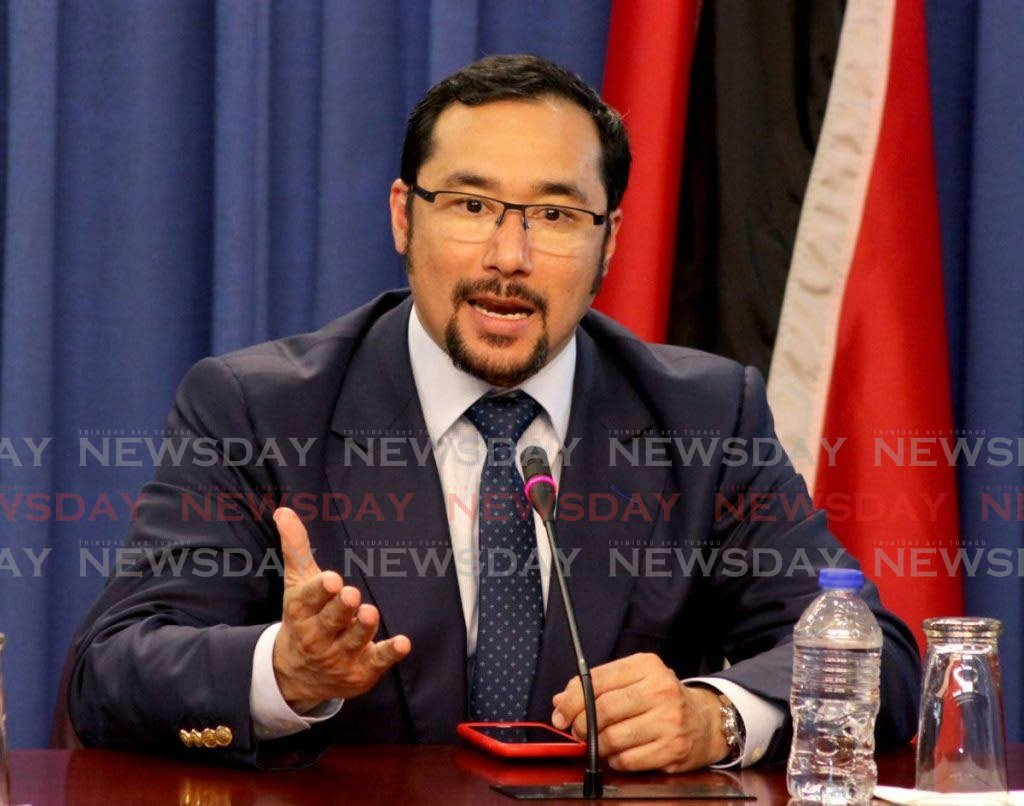Minister of Energy Stuart Young. -
