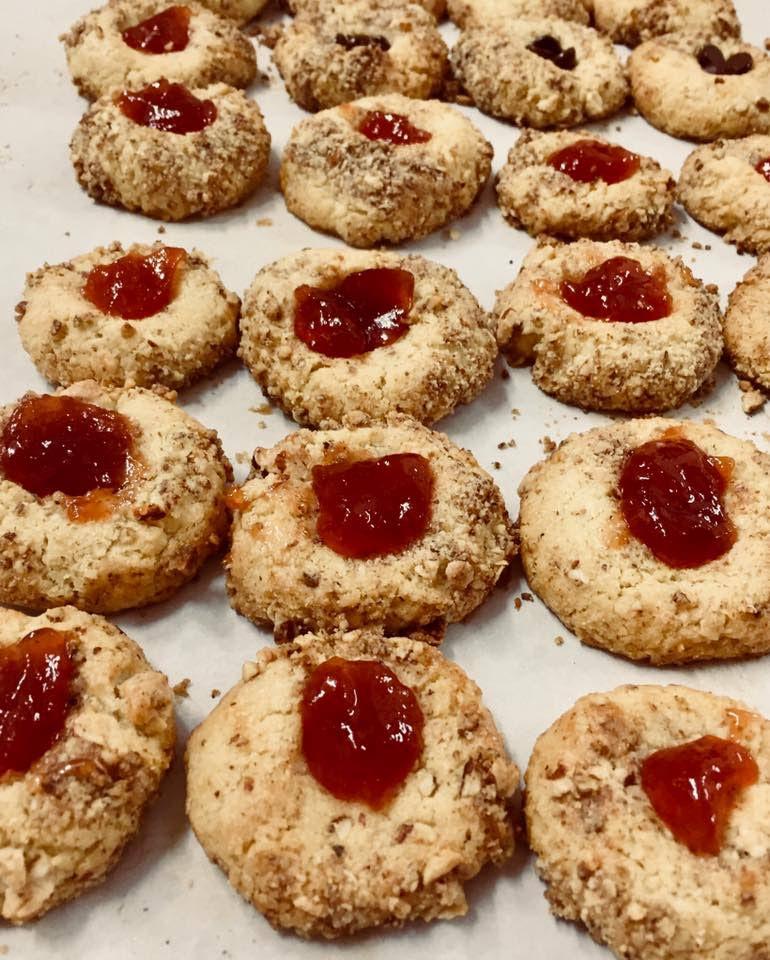 Thumbprint cookies -