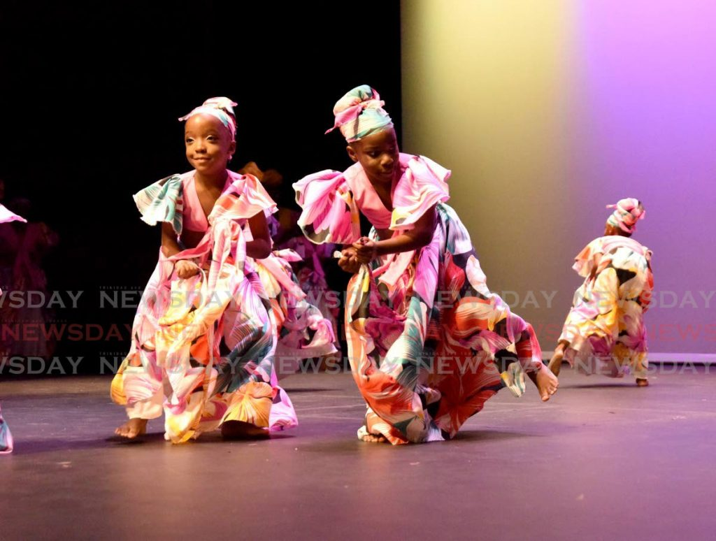 We are dancing the bele. Photo by Ayanna Kinsale -