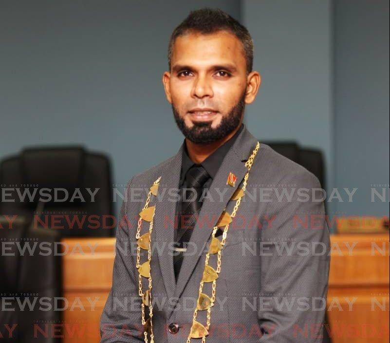 Chaguanas Mayor Faaiq Mohammed -