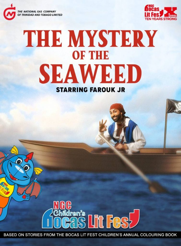 New stories in the Dragonzilla's Storytime series premiere during the 2021 NGC Children's Bocas Lit Fest. Actor Farouk Jr brings The Mystery of the Seaweed to life. -