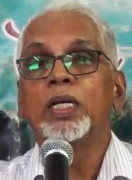 ASJA general secretary Rahimool Hosein.  -