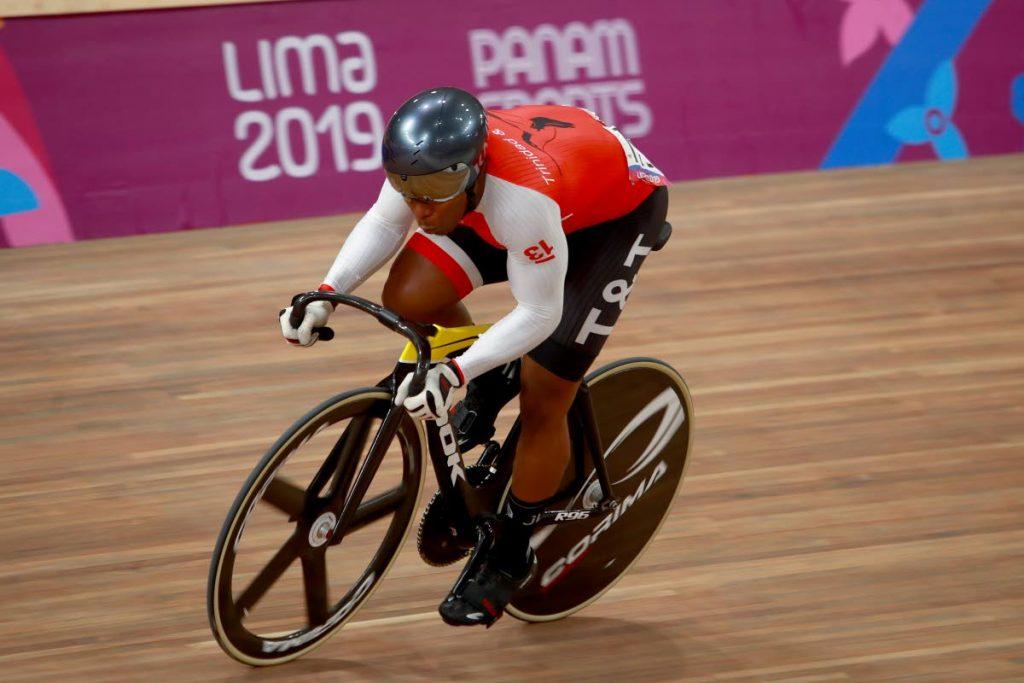 TT's Nicholas Paul at the 2019 Pan American Games.  - Ernesto Zelada / Xpress Media