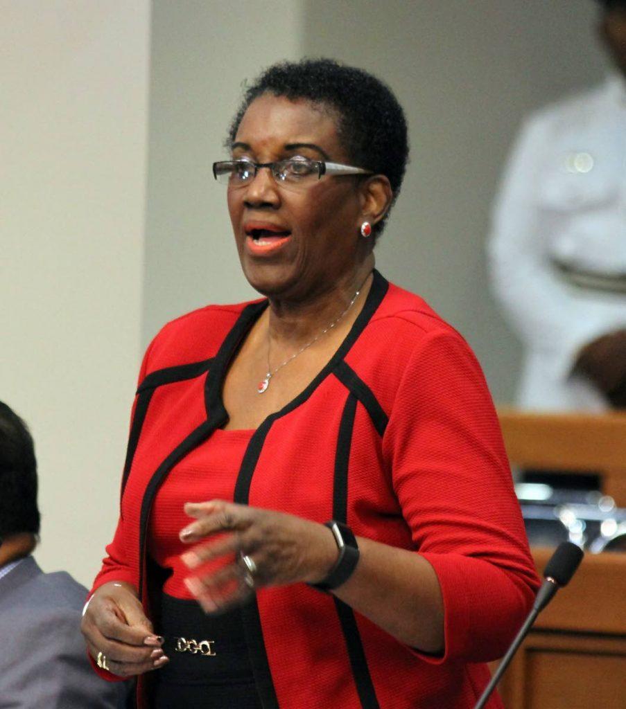 Independent senator Hazel Thompson-Ahye -