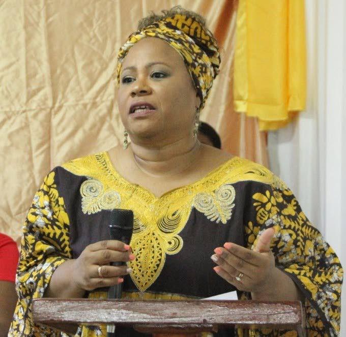 Tobago Festivals chairman Dr Denise Tsoiafatt-Angus -