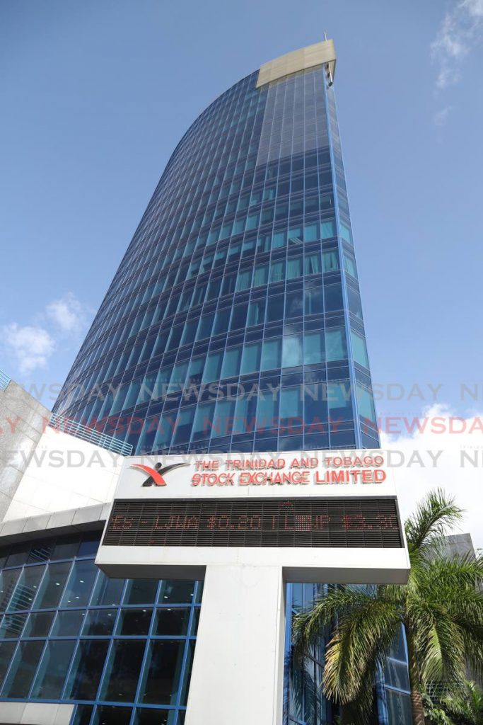 The TT Stock Exchange ticker board at Nicholas Tower, Port of Spain. If someone asked how to invest local currency in TT, what would you advise them?  - Jeff Mayers