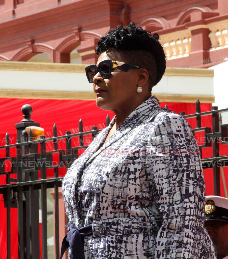 President Paula-Mae Weekes -