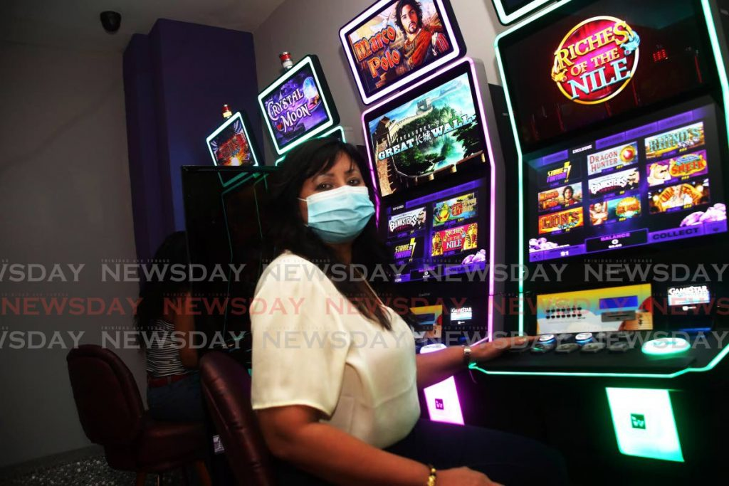 Sherry Persad, President of the TT Members Club Association and Director of Ma Pau Casino. - Photo by Sureash Cholai