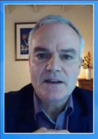 Immunologist Dr Clive Landis