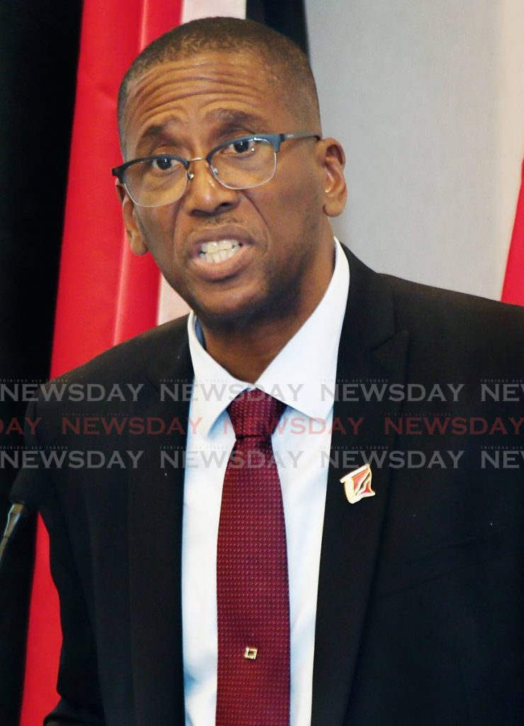 Chief Justice Ivor Archie who issued new practice directions for the judiciary on Tuesday to be in effect until June 30. FILE PHOTO -