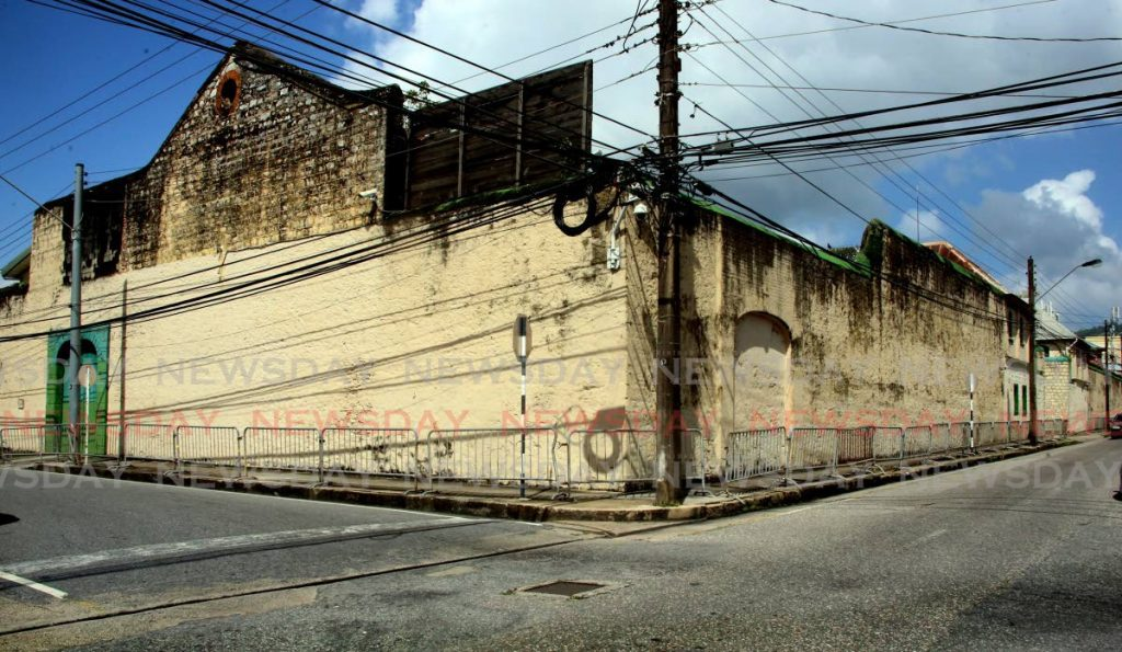 Port of Spain prison on Frederick Street, Port of Spain. - Photo by Sureash Cholai