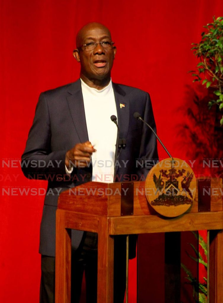 Prime Minister Dr Rowley - ROGER JACOB