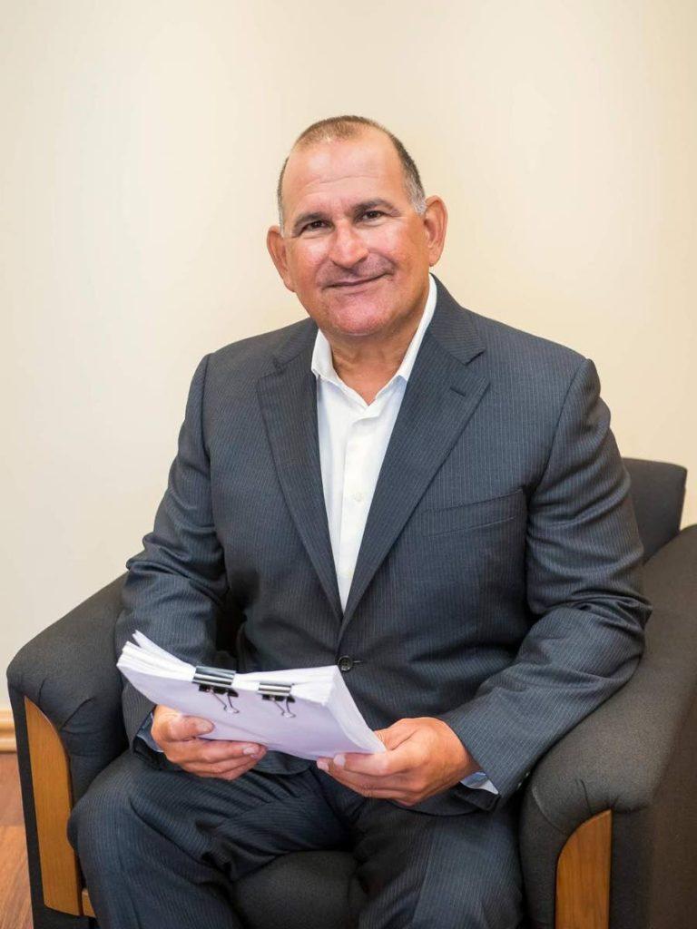 TTFA normalisation committee chairman Robert Hadad -