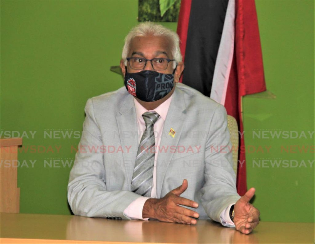 Health Minister Terrence Deyalsingh - Ministry of Health