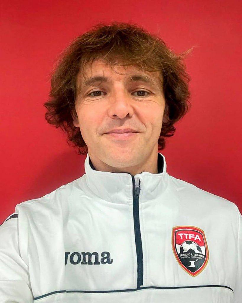 TT men's beach soccer head coach Ramiro Amarelle. - via Twitter