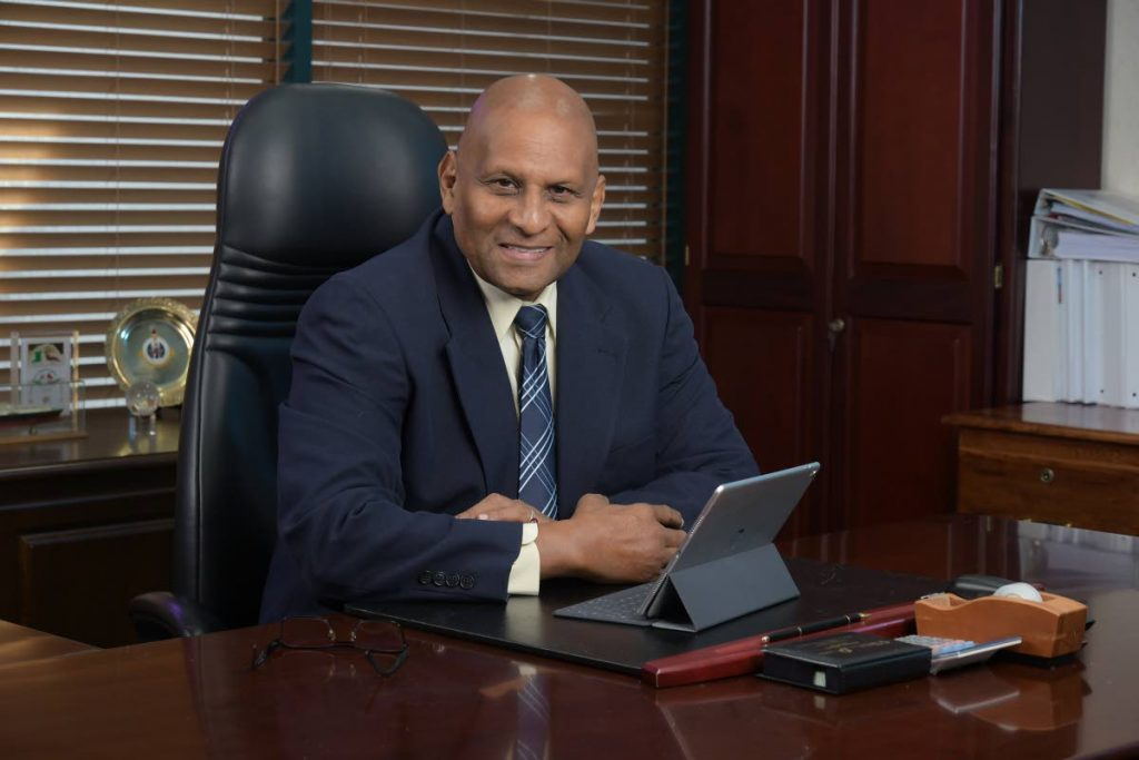 NGC chairman Conrad Enill