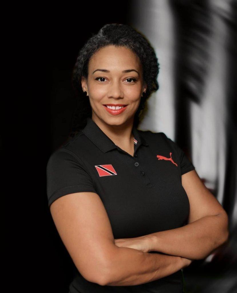 TT Rugby Football Union's first female president Maria Thomas . - Clynton Mann