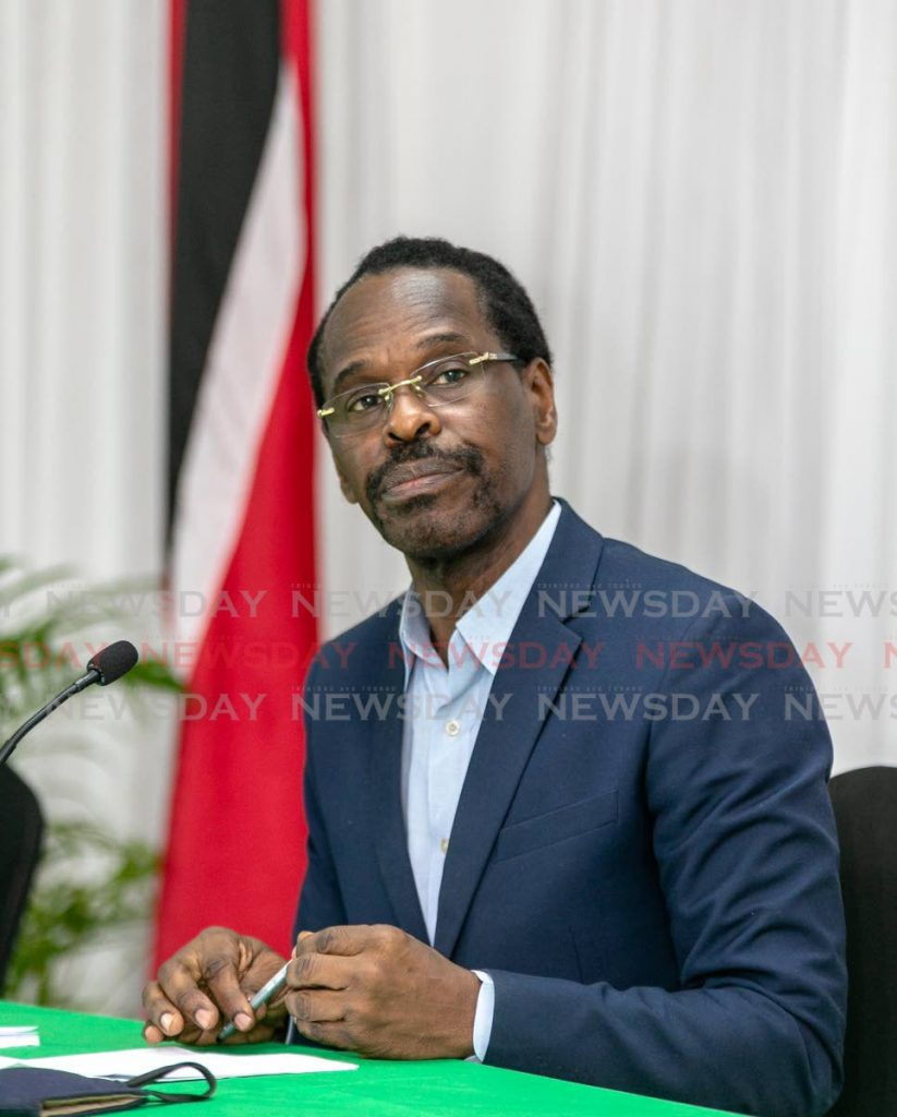 National Security Minister Fitzgerald Hinds. Photo by Jeff K Mayers