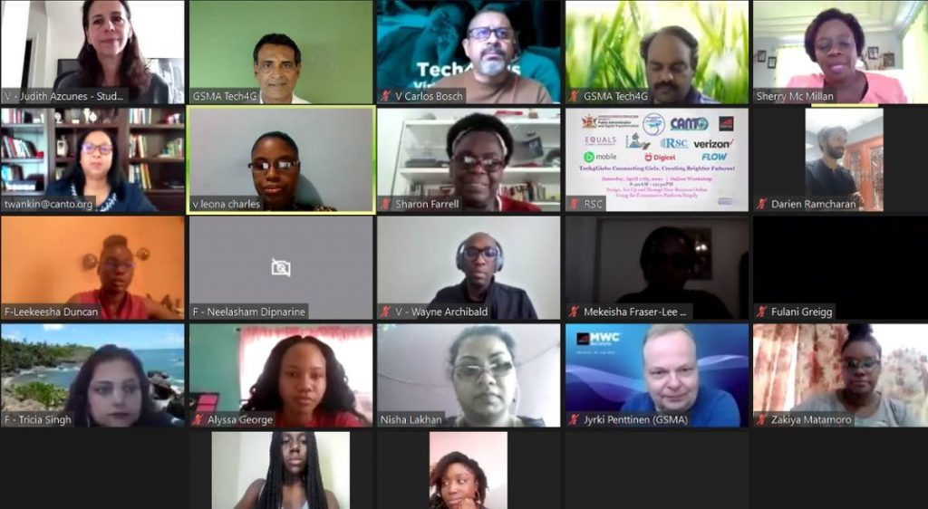 Participants at the Tech4Girls Workshop -